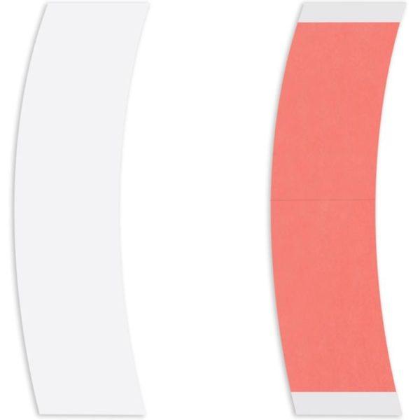 Kırmızı Sensitak Protez Saç Bandı 36 Adet Oval
