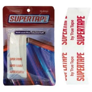 Super tape Oval Protez Saç Bandı