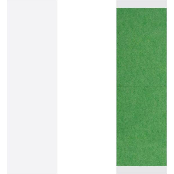 Yeşil Protez Saç Bandı 108 Adet Düz