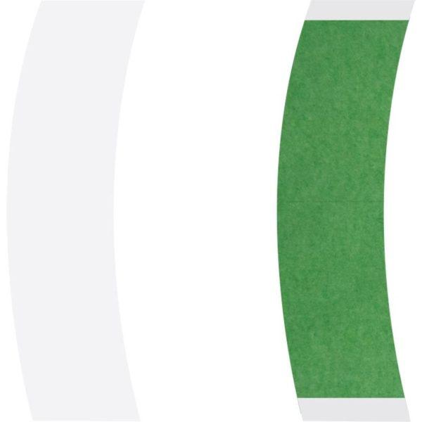 Yeşil Protez Saç Bandı 108 Adet Oval