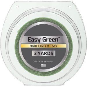 Yeşil Protez Saç Bandı 3 Metre Rulo